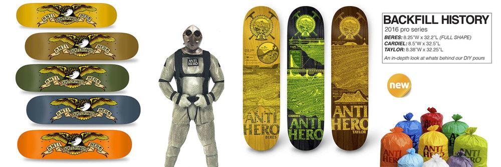 Antihero Skateboards New Urban Supplies