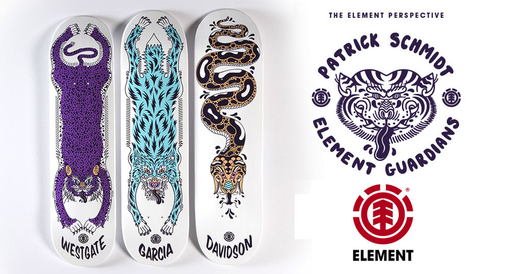 Element Skateboards Guardian Serie