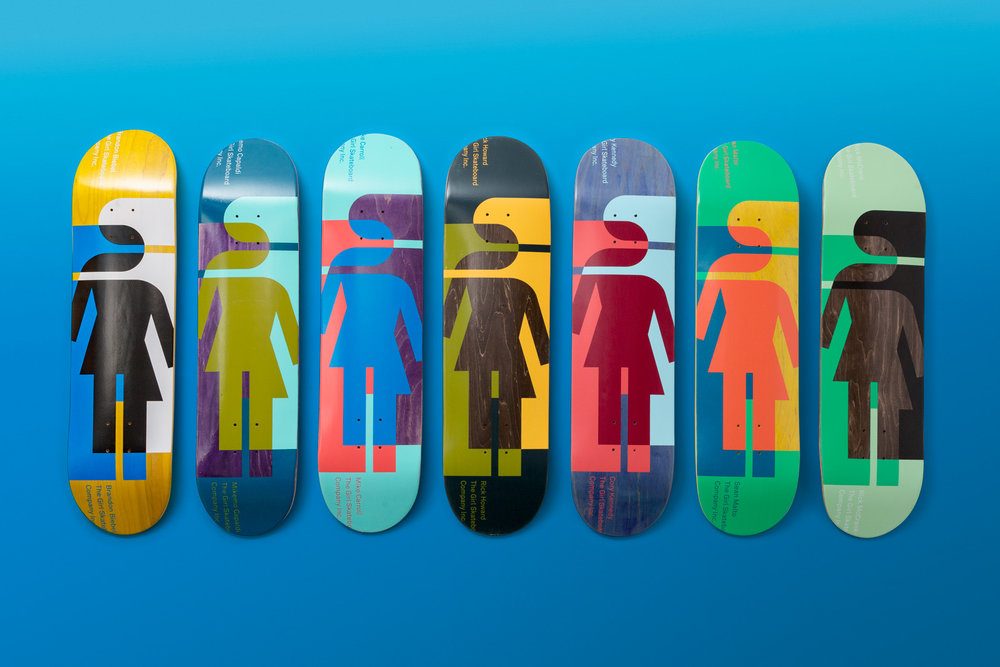 Girl Skateboards Hardcourt Serie
