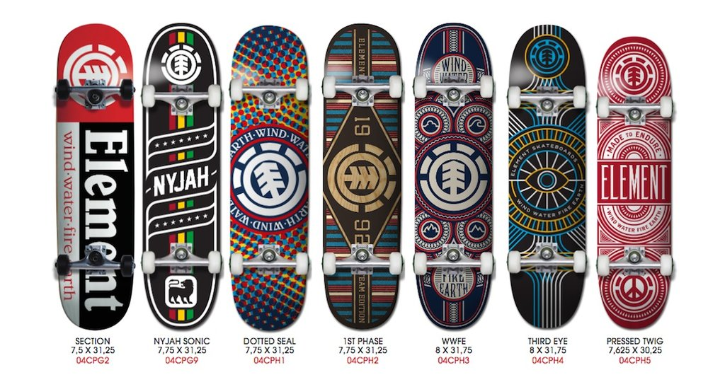 Element Skateboards Komplettboards