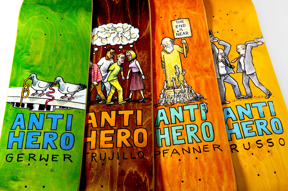 ANTIHERO SKATEBOARDS Serie Wonderful Life
