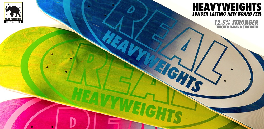 Real Skateboards Heavyweight