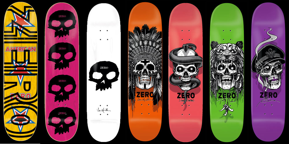 Zero Skateboards Urban Supplies