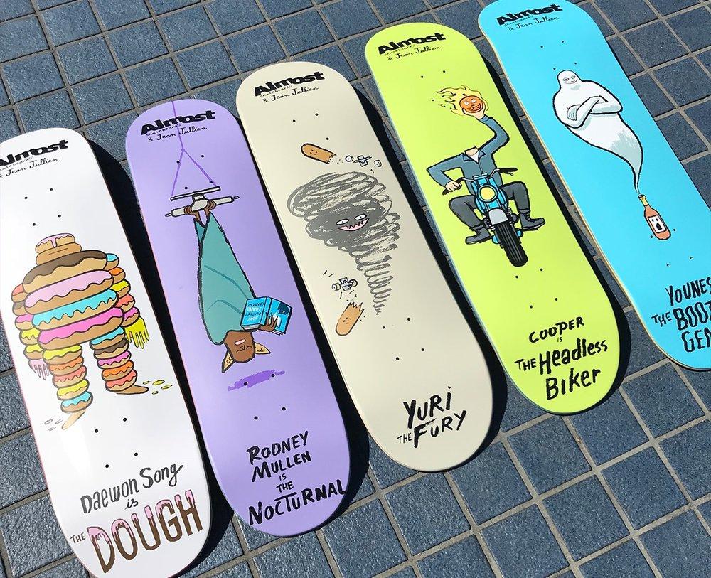 Almost Skateboards Jean Jullien.jpg