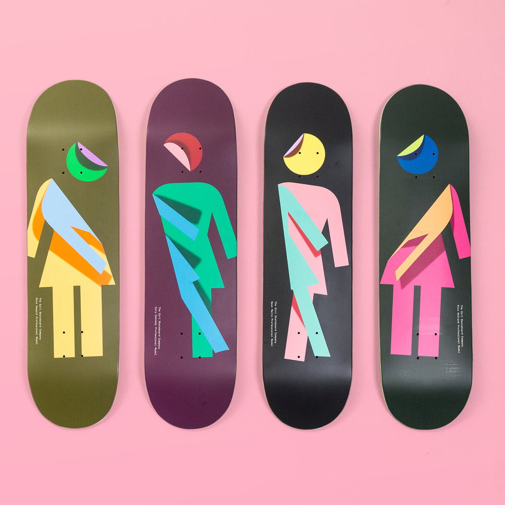 Girl Skateboards Folded OG