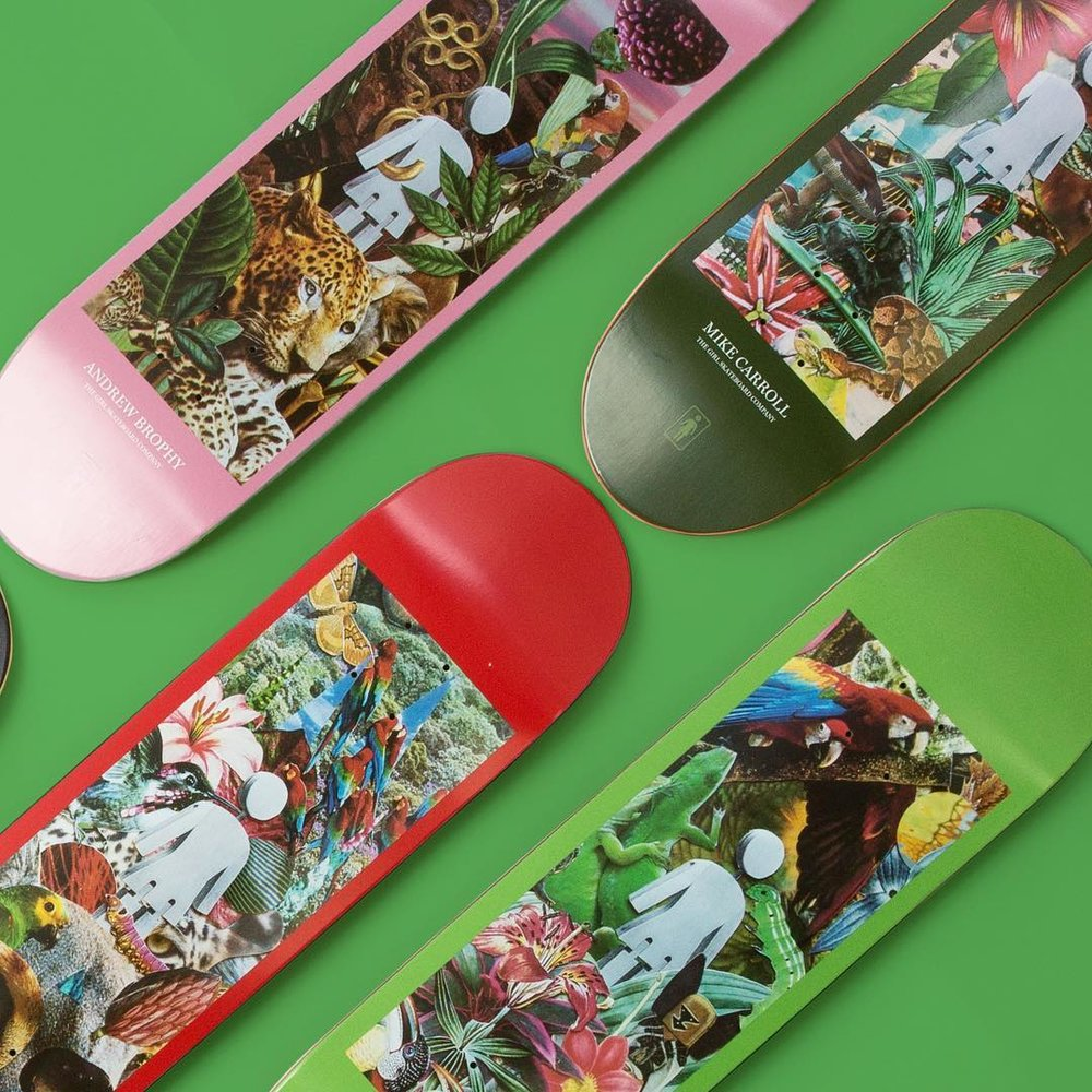 Girl Skateboards Jungle by Eric Gorvin