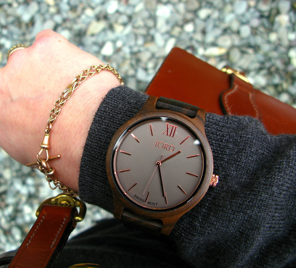 Cool wood watch