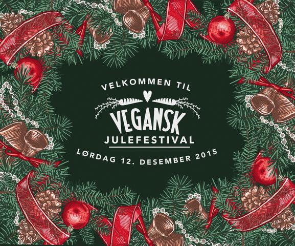 Vegansk Julefestival er lørdag 12. desember kl 12-18 på Vulkan Arena i Oslo. Håper vi ses der!
