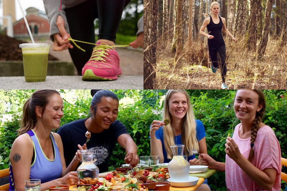 På eventet Løping&Velvære i regi av Grønn&Gira gjør vi løping til en total velværeopplevelse.