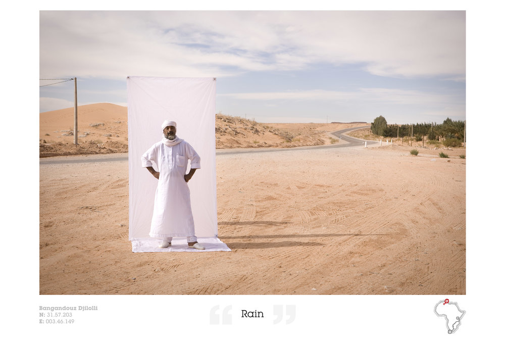 "Portrait of Bangadouz Djilolli - ""The Snakebox Odyssey"""