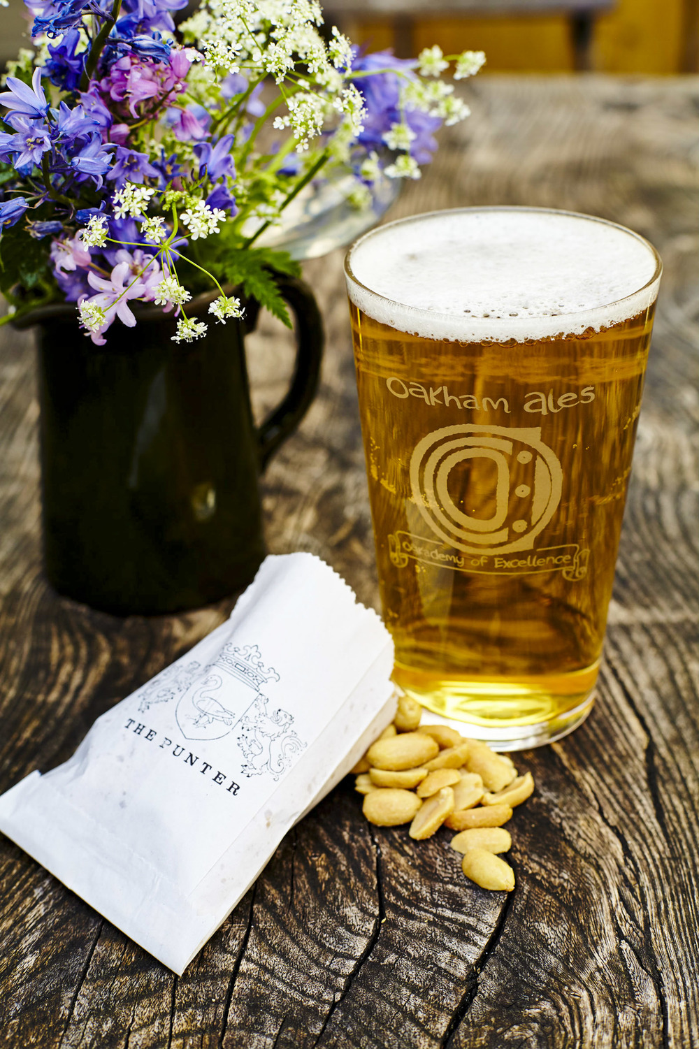 The Punter Blonde - Brewed for us by Oakham Ales