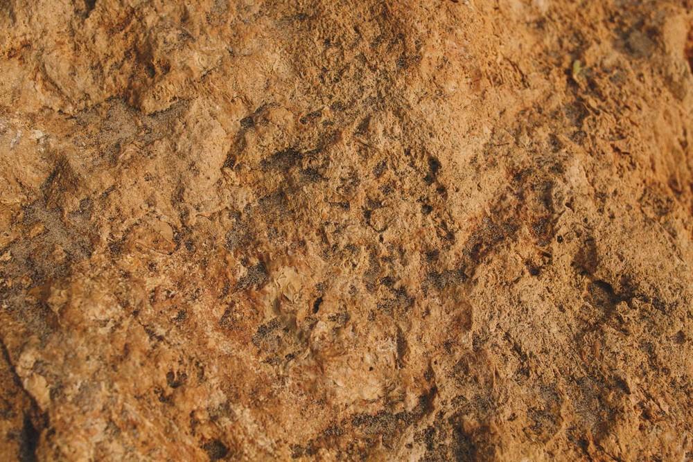 Une roche de plage.