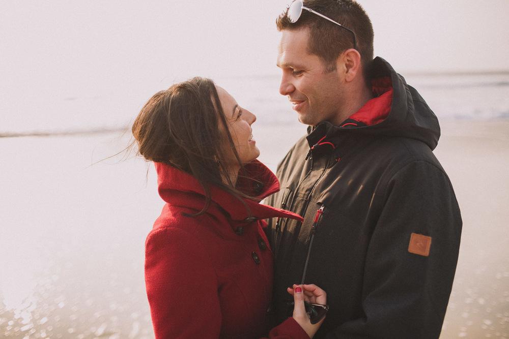 Sourires et amour pour ce couple Biscarrossais.