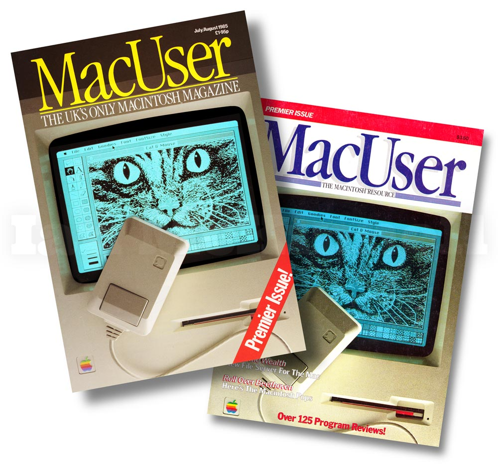 Macuser first issue cover