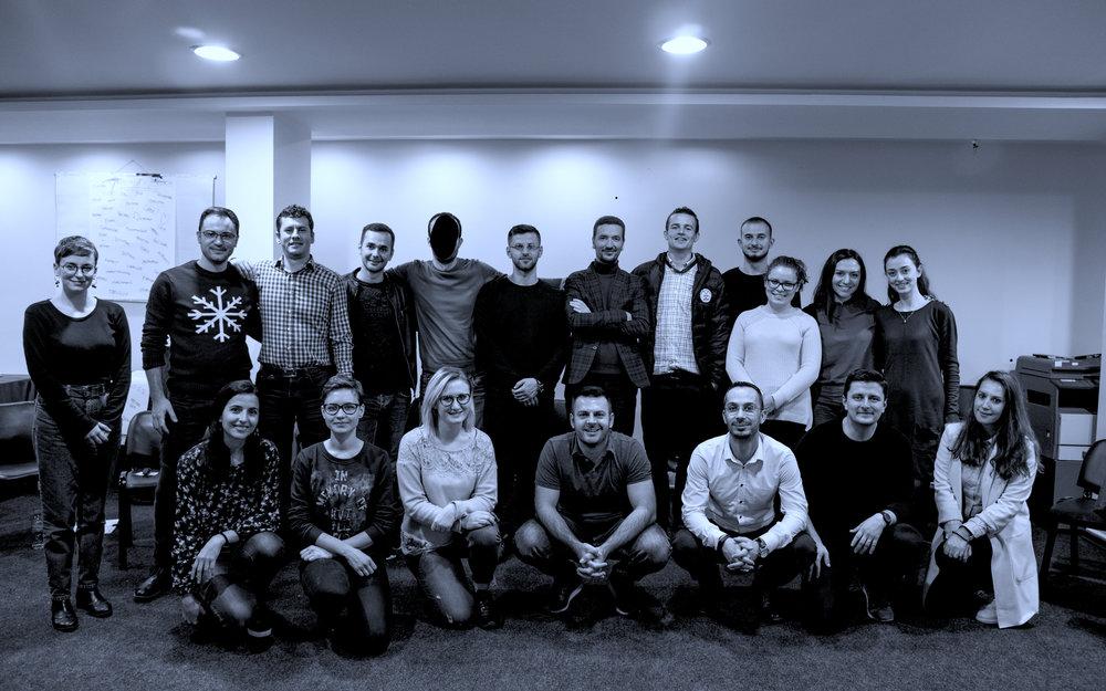 Tirana City Group, Albania - November 2018