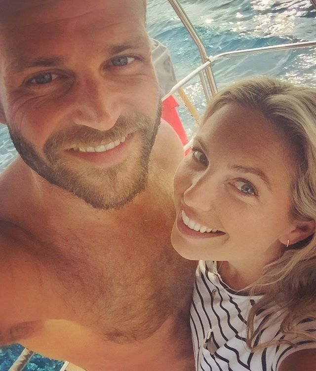 Be careful who you make memories with. Those things can last a lifetime ⚓️❤️ #team #alrightonagoodday #nowheretoescapeanyway 😉 #captainandcharlie #sailing #wanderlust #adventure #lover #sailor #captain #sea #boatlife