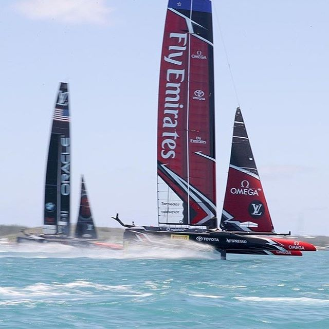 Good Luck Emirates team NZ! You are humble, powerful, quick and skilful and if the support my little wandering kiwi 🥝 is feeling for you is anything to go by you undoubtably have the whole country behind you! #emiratesteamnz #americascup #kiwipride #sailing #flying #goforit #captainandcharlie