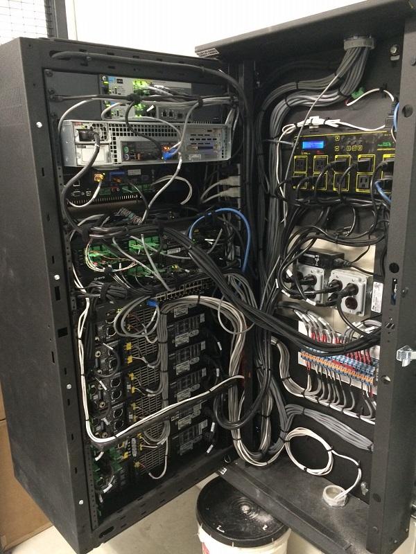 Amp Rack Rear Wiring
