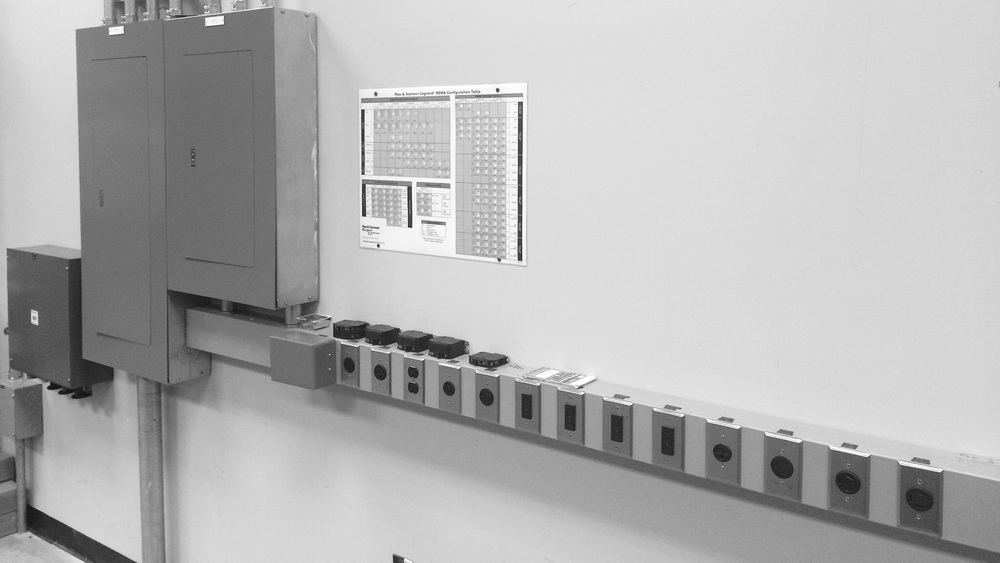 60 Amp Disconnect & 225 Amp Breaker Panel for Testing