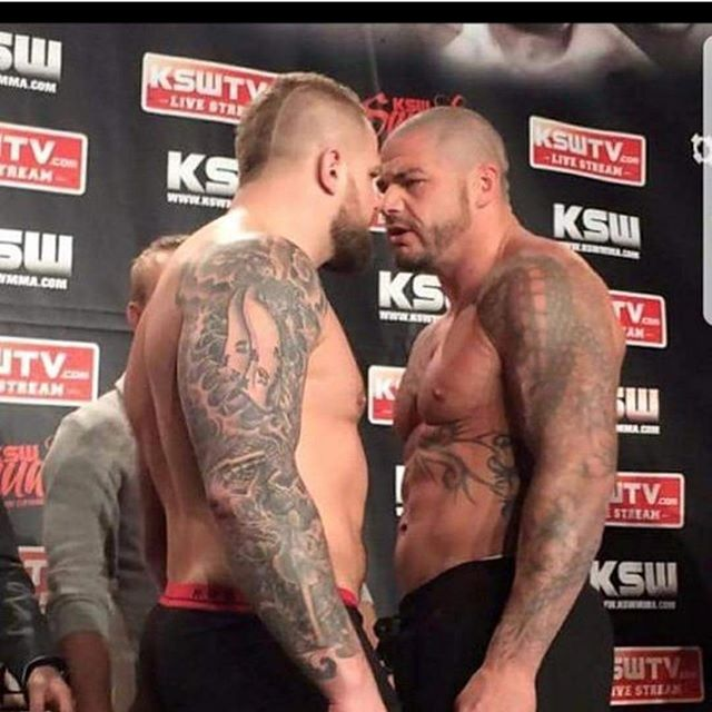 """Repost from our boy @mcsweeneymma """"The fans have asked me for it. I have asked for it. Everyone knows this will be the heavyweight fight of 2018  The rematch that sets the standard of 2018. @karolbedorf is a great fighter  And had a tough 2017 I was resting for 2017  Now we are both back And we both want to be @ksw_mma Heavyweight champion  Karol let's make this fight Do you want it??? @martinlewandowski @kawul_ksw  Let's give the fans the fight the want to see....... POLAND MARCH 2018 Love me hate me ? Love bedorf hate bedorf"""