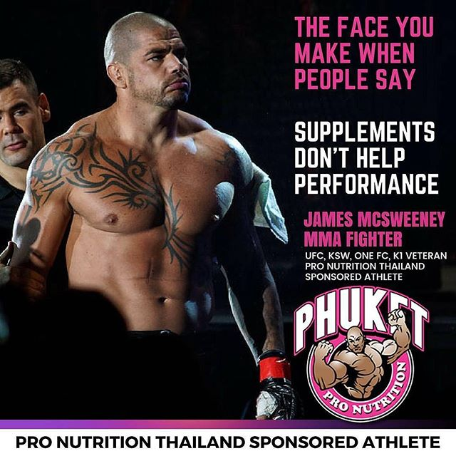 Repost By @mcsweeneymma :  Could not do what I do without the help and support from @pronutritionthailand keeping me healthy and stocked up  #nutrition #kickboxing #K1 #fighter #mmafighter #MMA #phuketthailand #phuket (via #appskottage.com #QuickReposter @AppKottage)