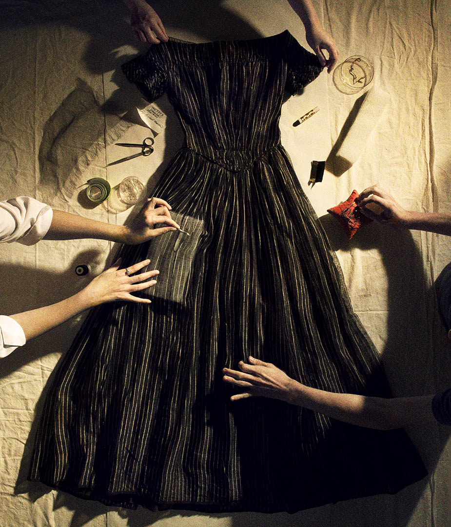 MET Mourning Dress