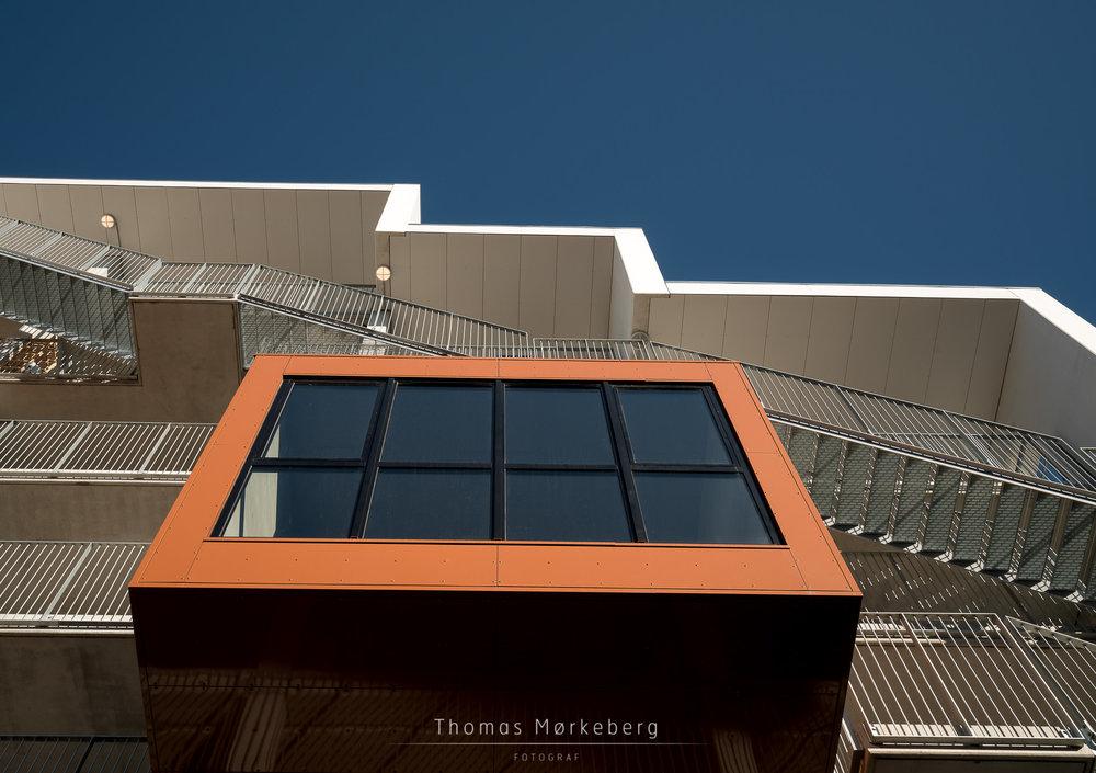 Student housing in Odense, Denmark