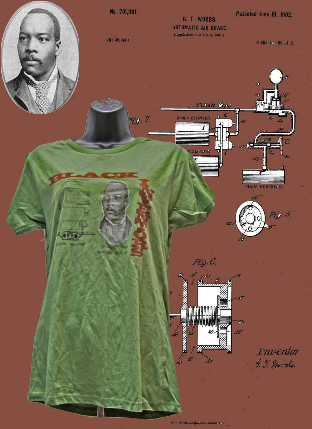 d14f3d6c3 Granville T. Woods   Black Inventor Collection