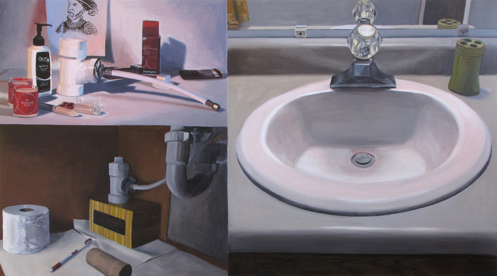 Fountain of Youth  Oil on panel