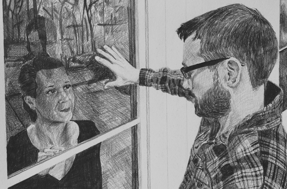 The Promise  Ep 4 Scene 7.1 Graphite on paper