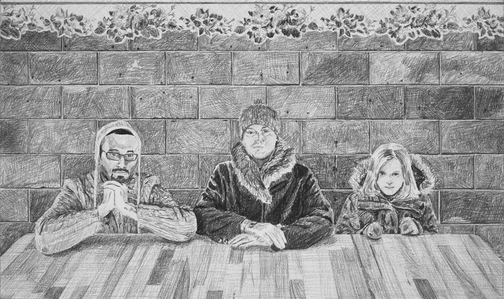 The Trail  Ep 6 Scene 8 Graphite on paper