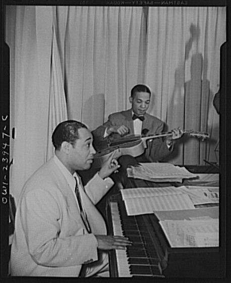 Duke Ellington and Freddy Guy, Hurricane Cabaret, New York City, April 1943
