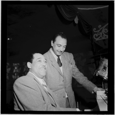 Django Reinhardt and Duke Ellington, Aquarium, New York City, Nov. 1946