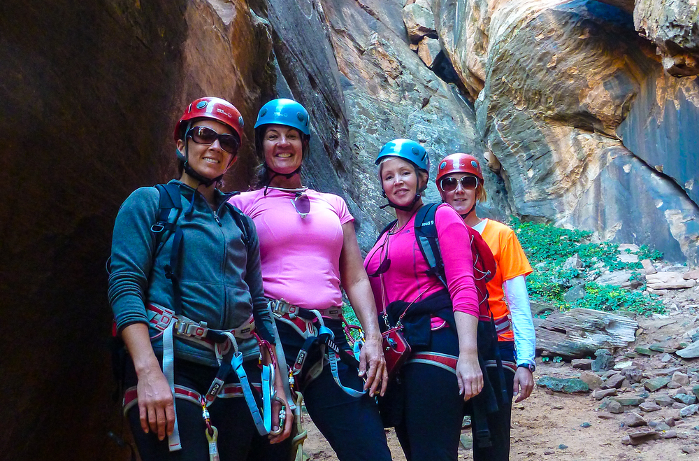 Women's  Half-Day Canyoneering Quest - On Retreat