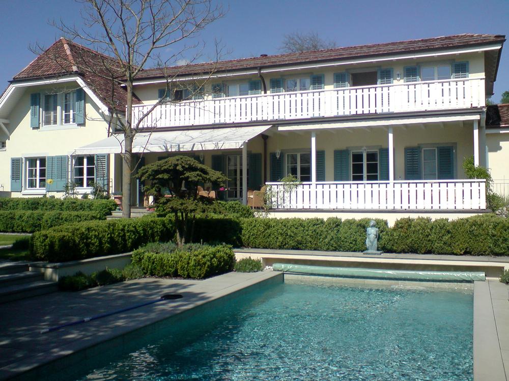 Saniertes Landhaus mit Pool
