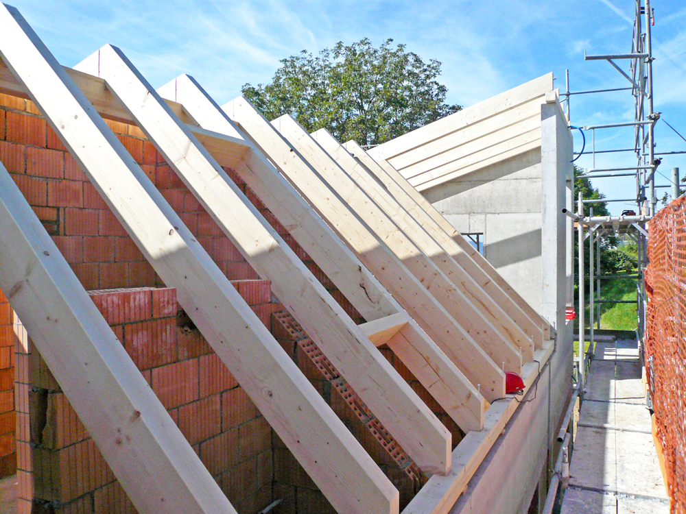 Sparrenlage Dach