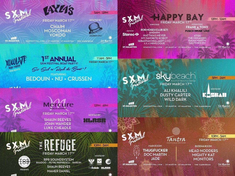 SXM Festival 2017 Robbie Lumpkin Promotions