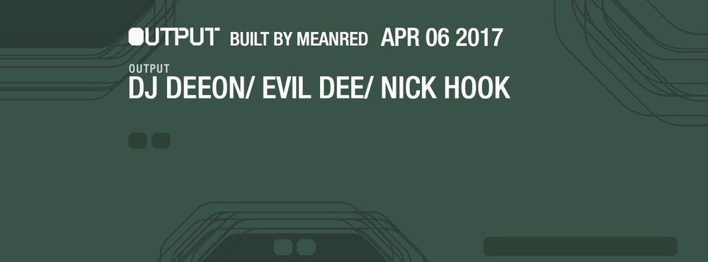 DJ Deeon Output Robbie Lumpkin Promotions