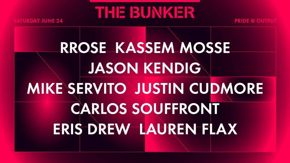 The Bunker Output Robbie Lumpkin Promotions