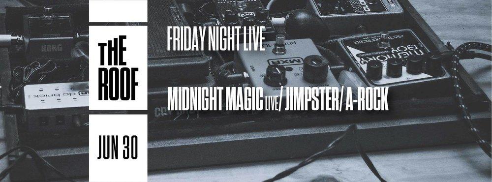 Midnight Magic Jimpster Output Robbie Lumpkin Promotions