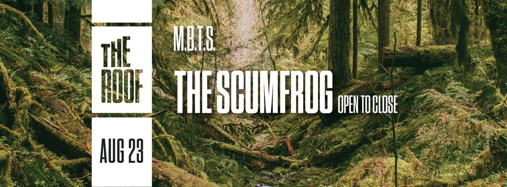 The Scumfrog Output Robbie Lumpkin Promotions