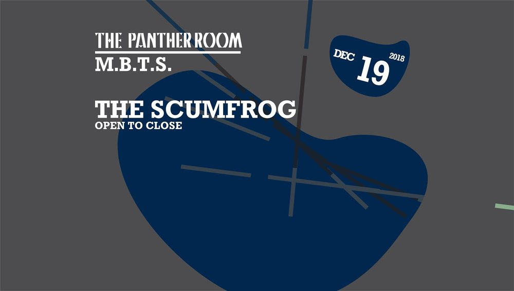 the scumfrog Output Club BK Robbie Lumpkin Promotions