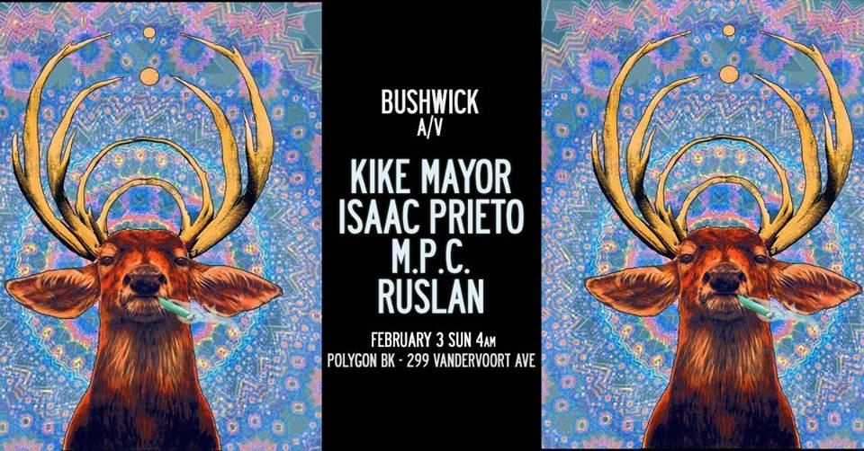 kike mayor isaac prieto bushwick a/v winter garden polygon bk robbie lumpkin promotions
