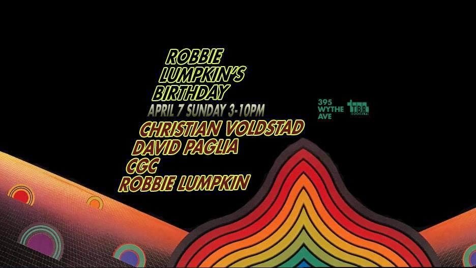 robbie lumpkin promotions birthday tba brooklyn