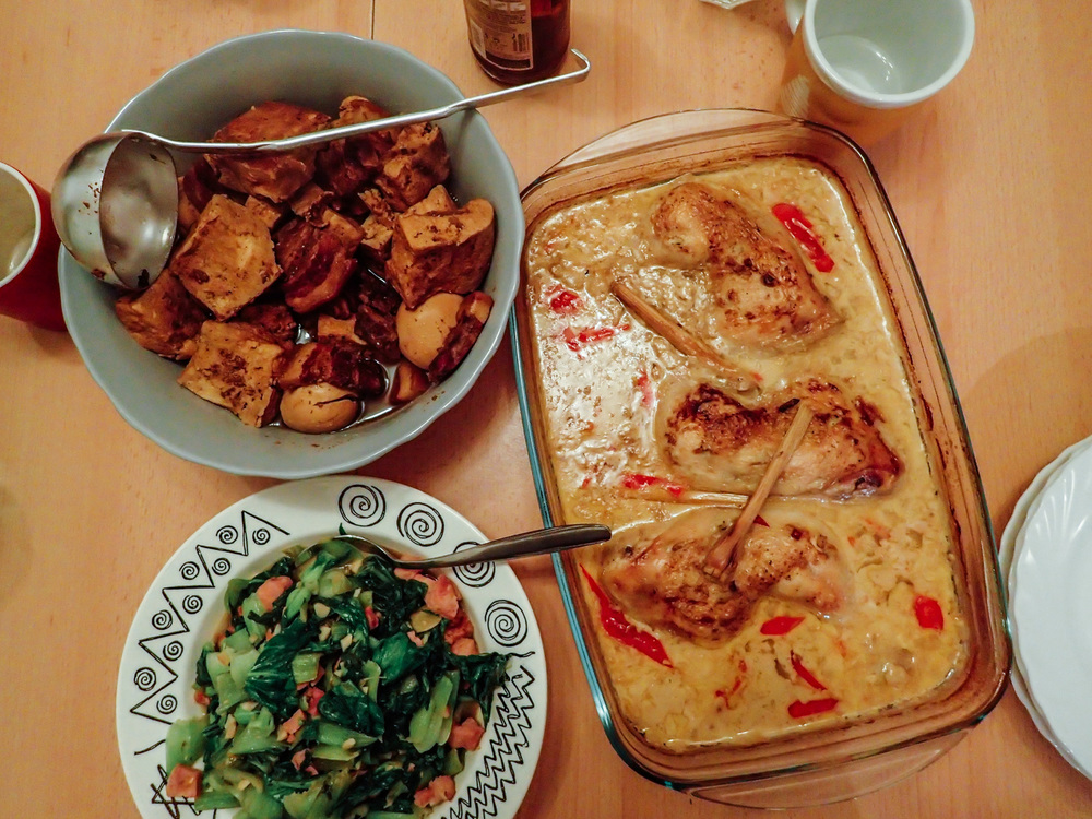 Home cook meal by Ooi Kock