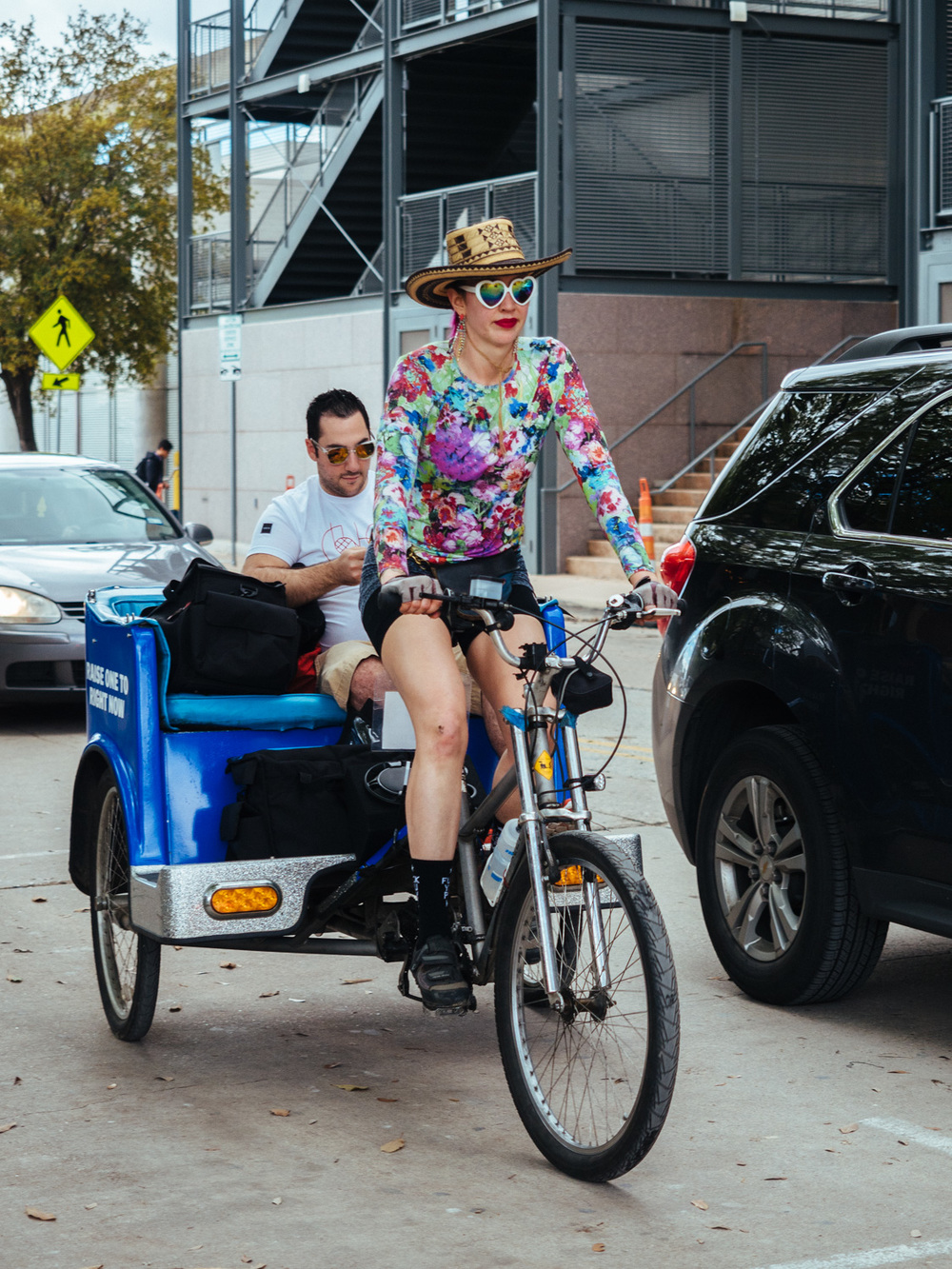 Pedicab in Austin