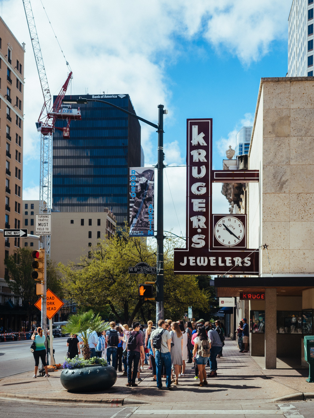 Downtown Austin during SXSW