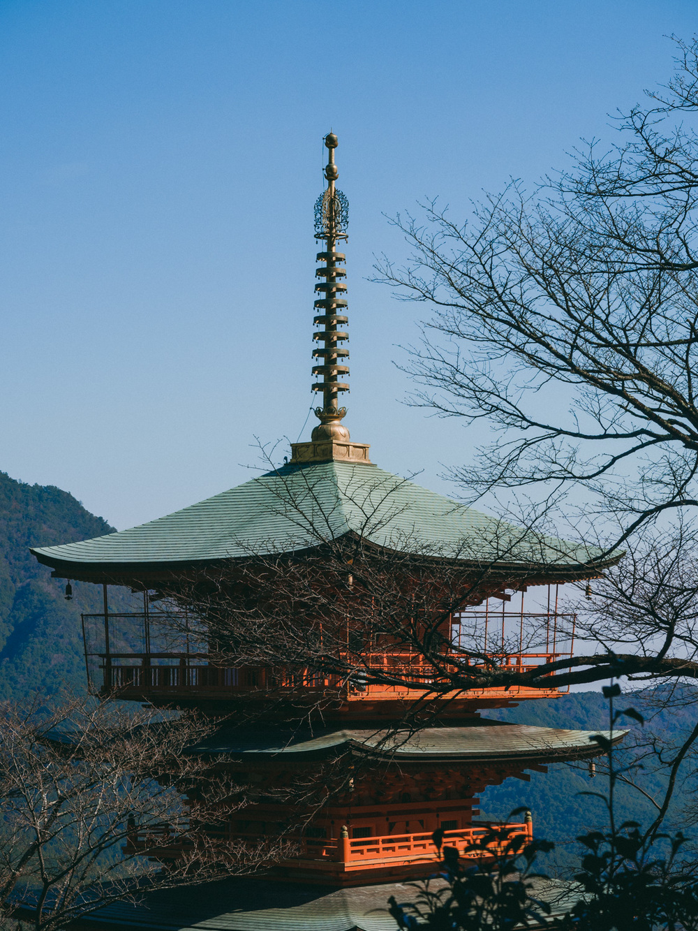 Pagoda at Hiro Shrine