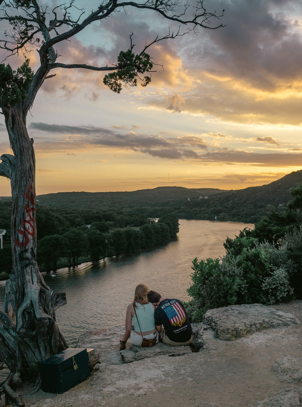 Lovers at 360 Overlook