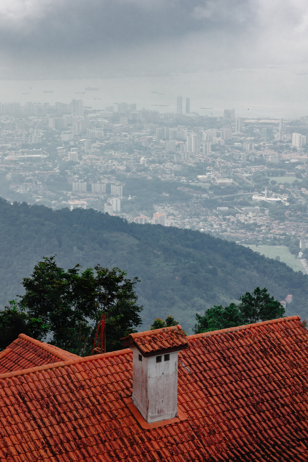 Up on Penang Hill